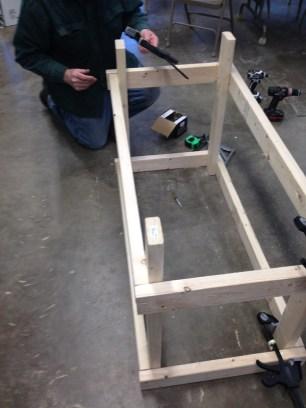 Design: lab benches