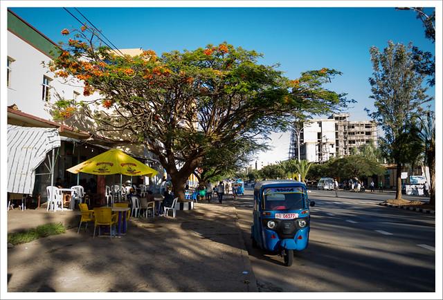 Calles de Aksum