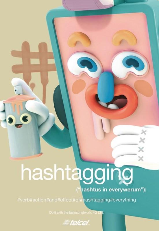 Telcel - Hashtag