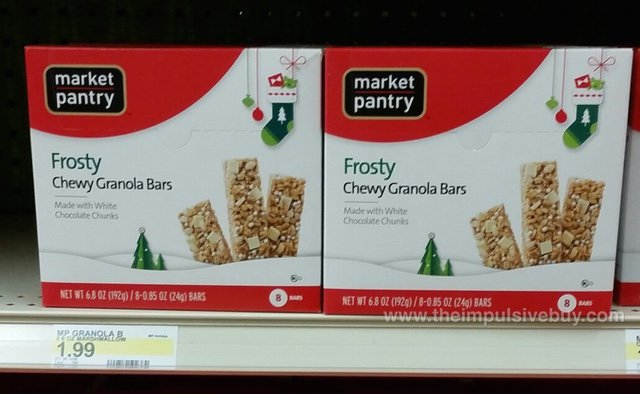 Market Pantry Frosty Chewy Granola Bars