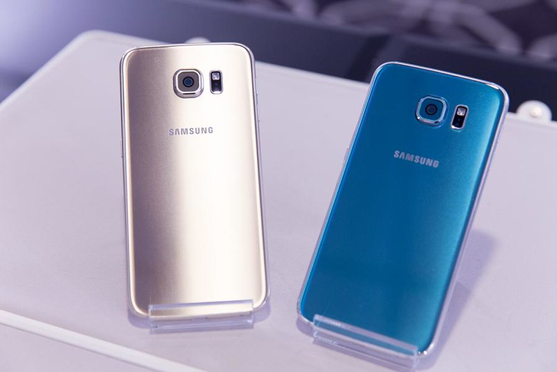 Galaxy S6 Edge Samsung Android smartphones