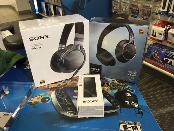 Sony Hi-Res Audio gear