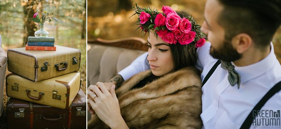 Wedding Creative Inspiration Hamilton Woodland engagement Photography 0013