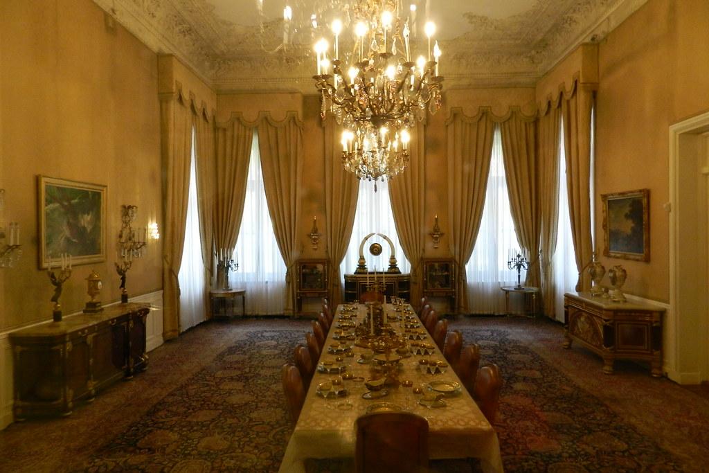 comedor del Palacio Blanco Complejo Sad Abaad Teheran Iran 08