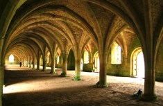 Fountains Abbey – North Yorkshire – England – UK