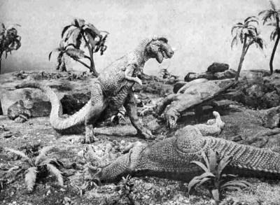 Ray Harryhausen's dinosaurs in The Animal World (1956)