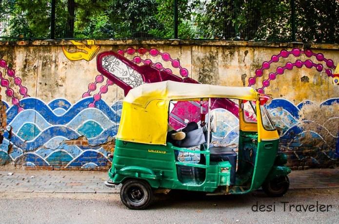 Delhi Street Art: Agrasen Ki Baoli