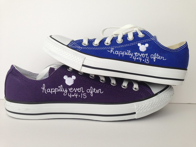 Happily ever after wedding shoes