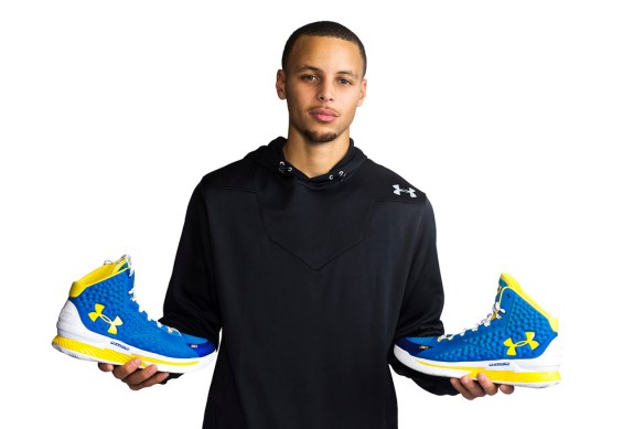 f22d1e6832f4 The Golden State Warriors seats on top of the NBA standings right now.  Their Maim Man Stephen Curry is the torch bearer of Under Armour when it  comes to ...