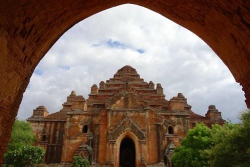Biggest temple Bagan