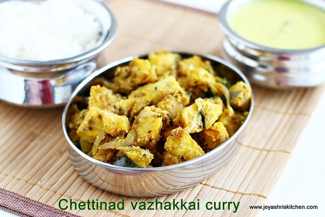 Vazhakkai-curry