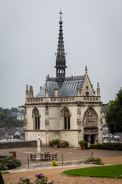 Chapel at Chateau de Ambois