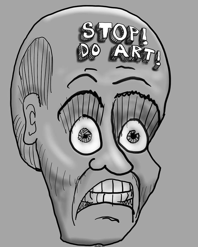 Stop! Do Art! 20160712