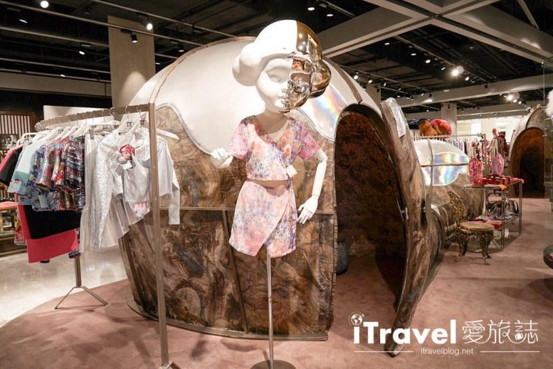 《曼谷购物中心》The EmQuartier:时尚潮牌与美味料理汇集