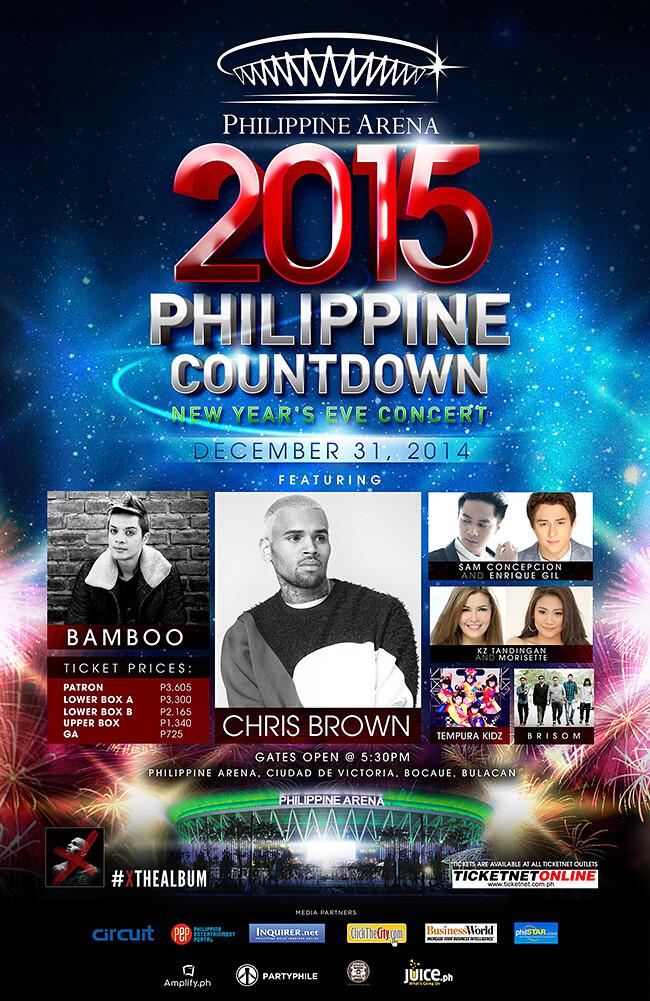 2015 Philippine Countdown
