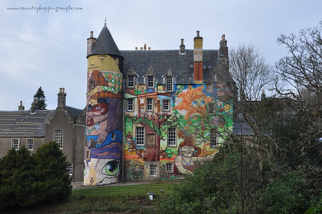 Kelburn Castle graffit