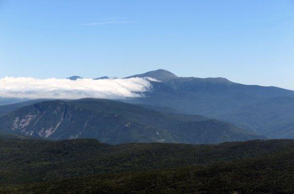 Mt Carrigain View Mt Washington-Closeup
