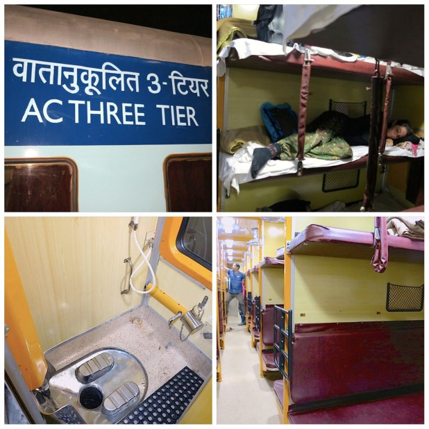 Viajar en tren por India
