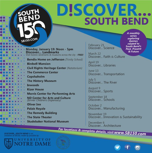 Discover South Bend Landmarks