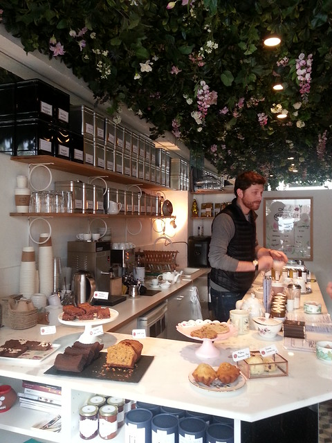 Lily of the Valley tea shop,  Paris