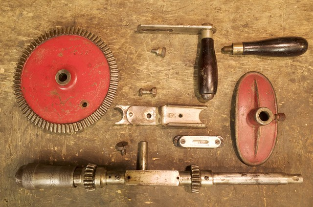 Millers Falls No.13A (dismantled)