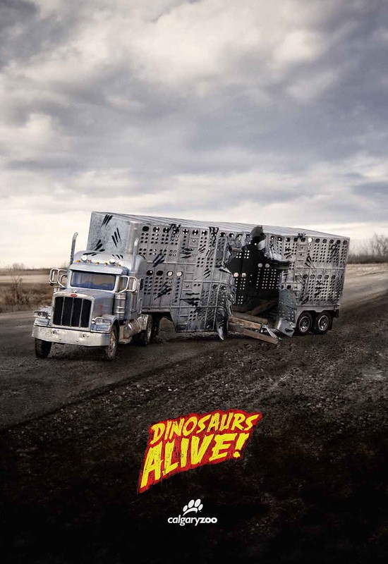 Calgary Zoo - Dinosaurs Alive Truck