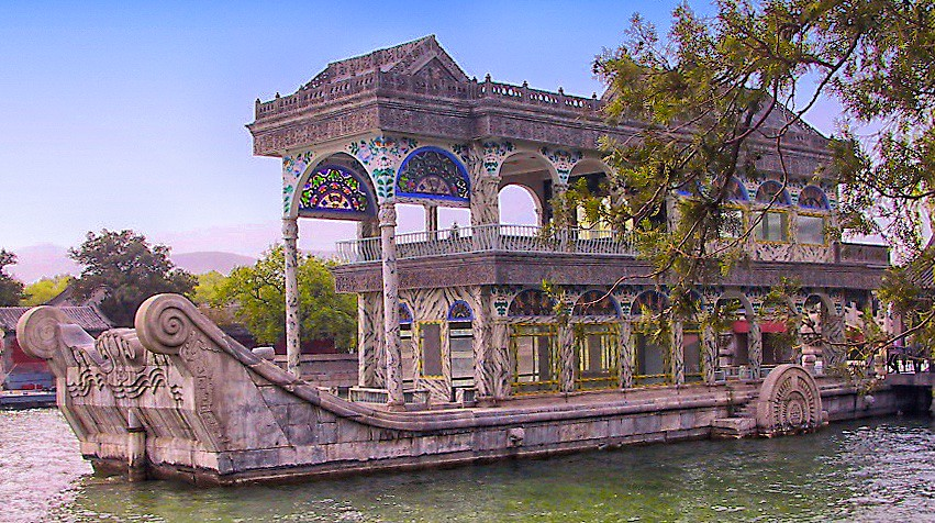 The Marble Boat Summer Palace Beijing The Marble Boat