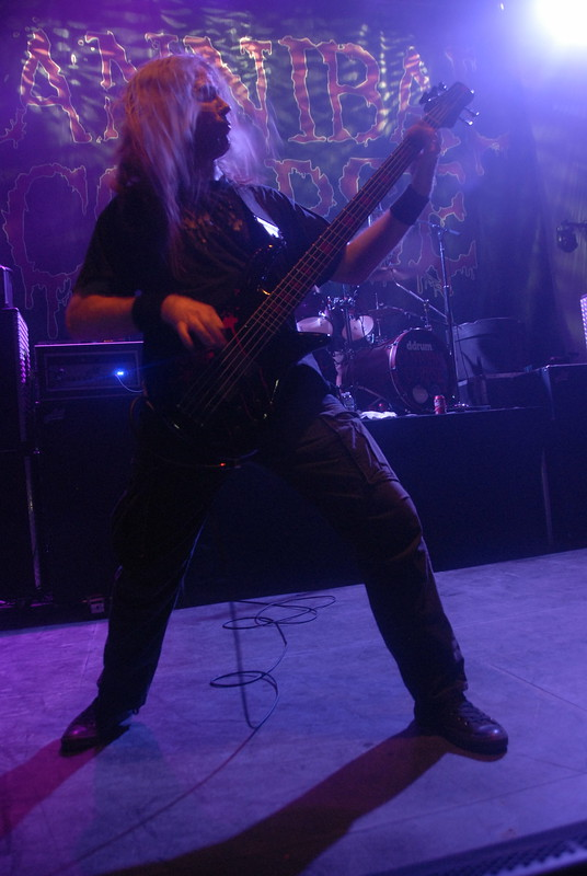 Alex Webster of Cannibal Corpse at the Fillmore Silver Spring