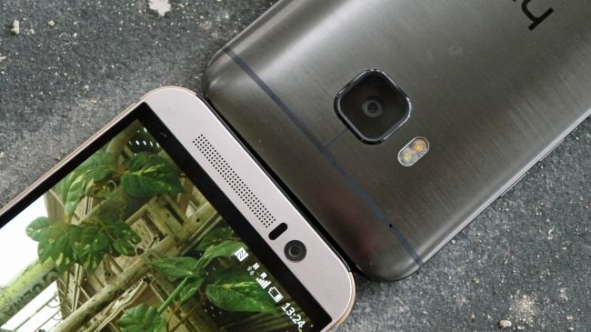 htc one m9 front back