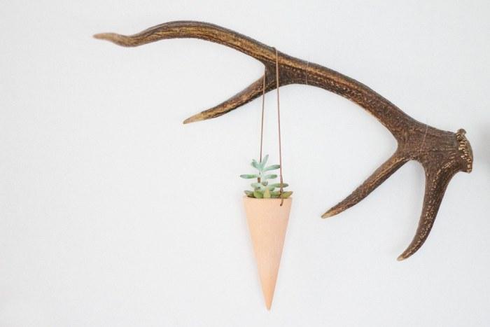 Vessel + Vine cone planter