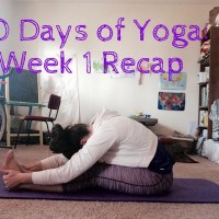 30 Days of Yoga - Week 1