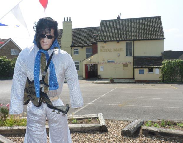 Elvis at Royal Mail