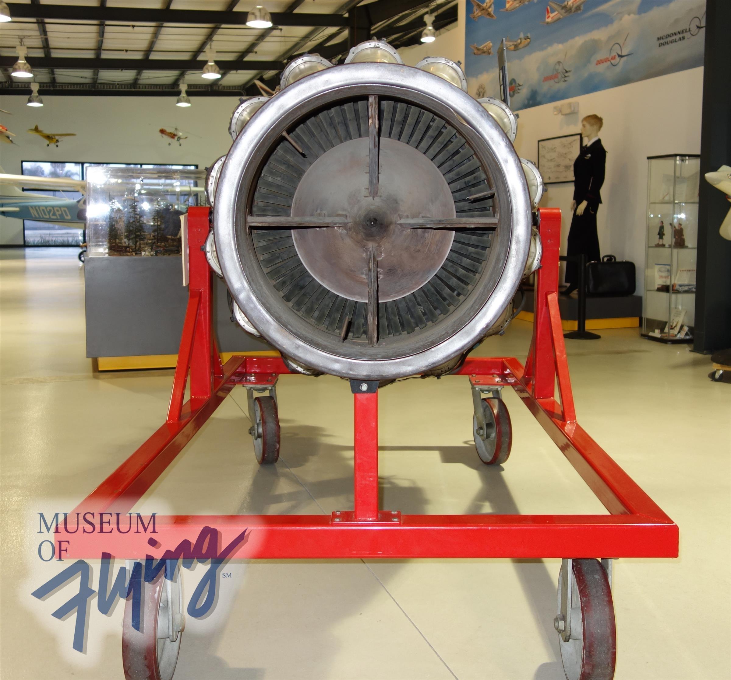 Allison J33 A 23 Engine Museum Of Flying