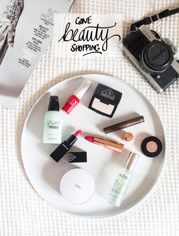 Gone Shopping Beauty make up tray Korean