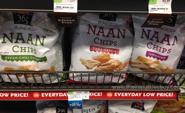 Whole Foods 365 Baked Naan Chips