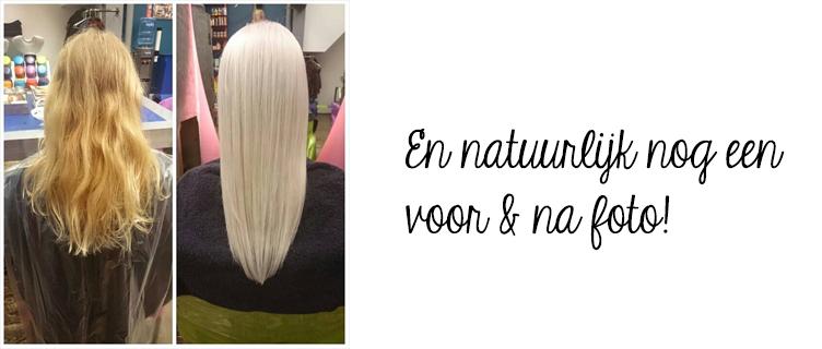 My new white blonde hair