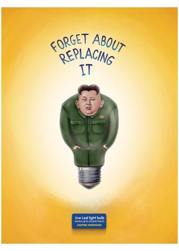 Lighting Warehouse Led Light Bulb - Kim Jong-Un