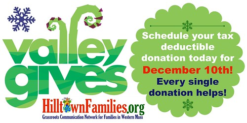 Schedule your donation today for December 10th!