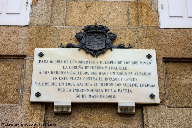 A CORUÑA - Plaza de la Constitución