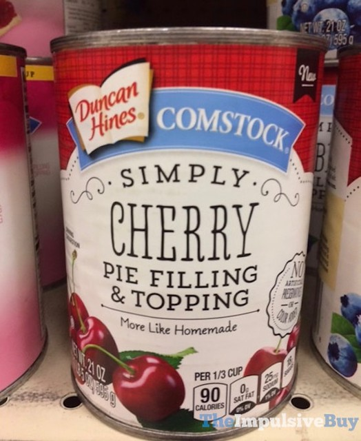 Duncan Hines Comstock Simply Cherry Pie Filling & Topping
