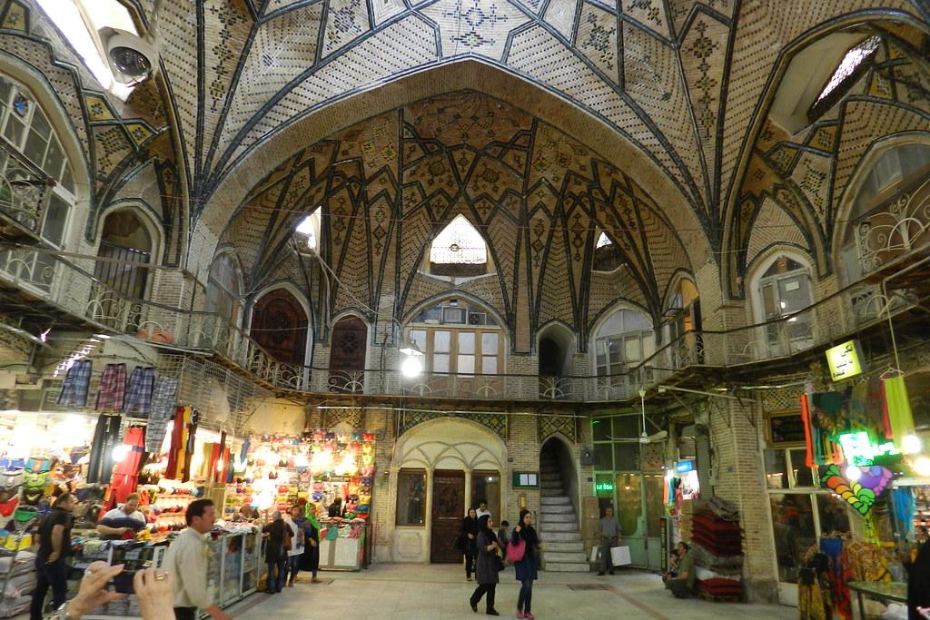 Gran Bazar de Teherán Irán 14