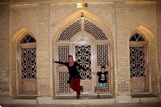 Tumba del poeta Hafez