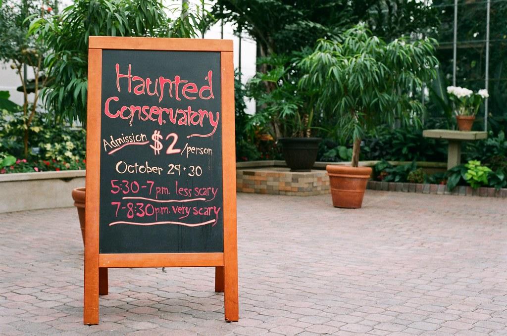 Haunted Conservatory