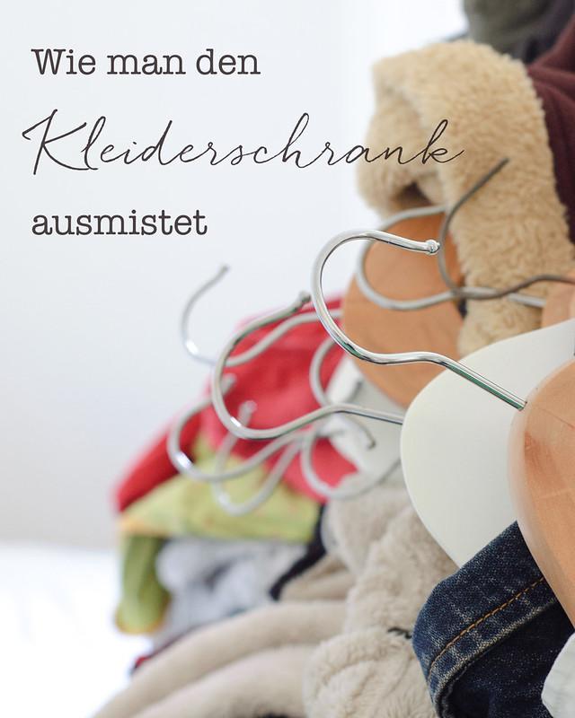 Wie man den Kleiderschrank ausmistet und dabei seinen Stil findet - Fräulein im Glück - nachhaltiger Mamablog