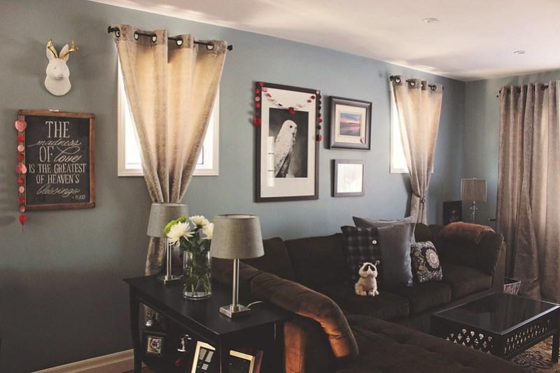 View of Valentine Garland hanging | Alex Inspired