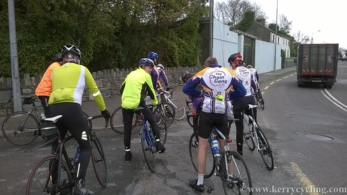Re-grouping at Killorglin
