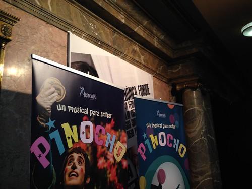Pinocho, un musical para soñar, Teatro Rialto. Madrid