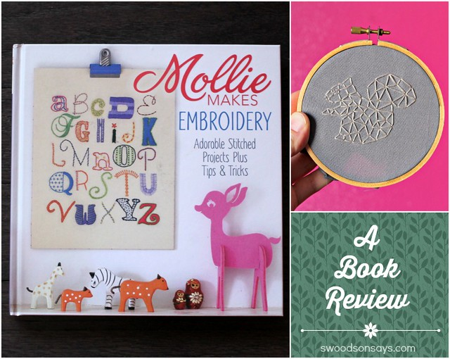 Mollie Makes Embroidery Book Review