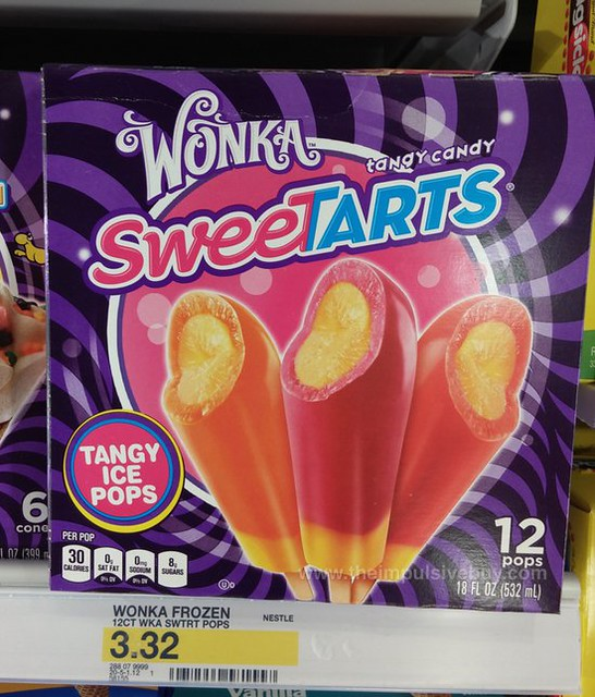 Wonka Sweetarts Tangy Ice Pops
