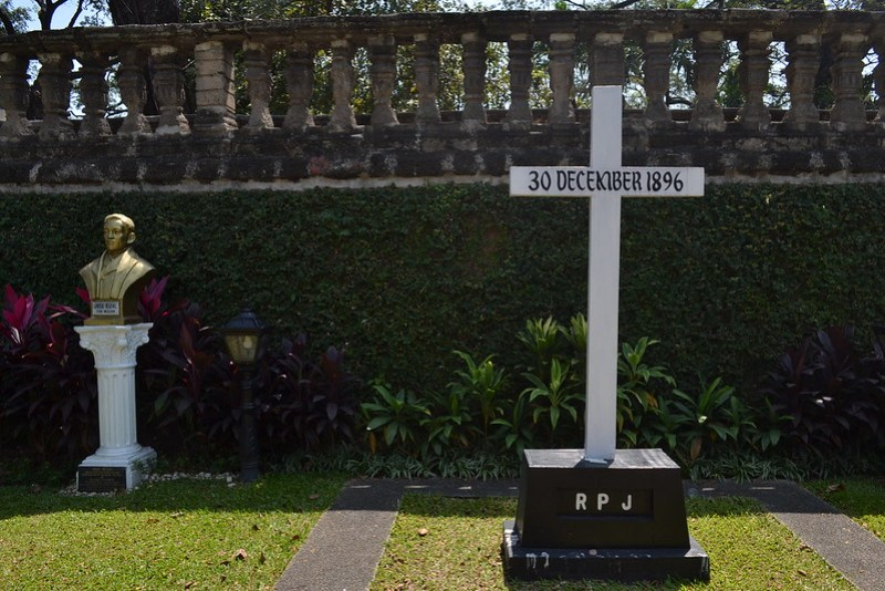 Primera tumba de Rizal